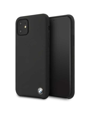 iPhone 11 • Mobilskal • BMW • Silicone • Svart