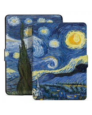 Amazon Kindle 10 2019 • Fodral • SmartCase • Starry Night