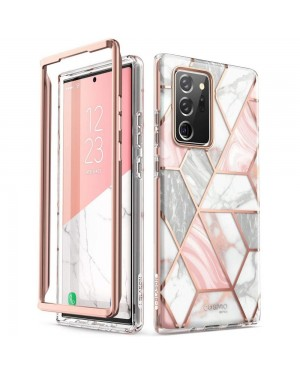 Samsung Galaxy Note 20 Ultra • Mobilskal • Supcase Cosmo • Marble • Rosa