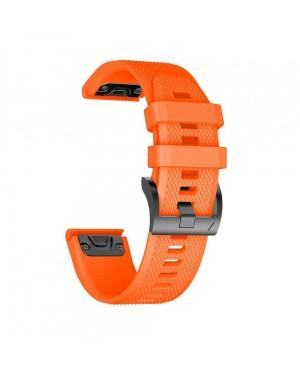 Armband • Garmin Fenix5 / 6 / 6 Pro (22mm) • Smoothband • Orange