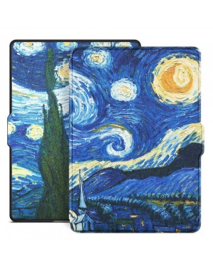 Amazon Kindle Paperwhite 1 / 2 / 3 • Fodral • SmartCase • Starry Night