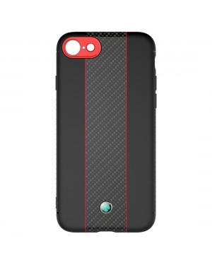 iPhone 8 / 7 / SE (2020) - Mobilskal - Motorsport - Röd