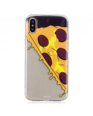 iPhone X / Xs Mobilskal - Pizza