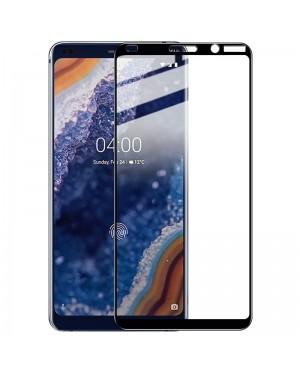 Nokia 9 PureView Skärmskydd - Härdat glas - Heltäckande - Svart