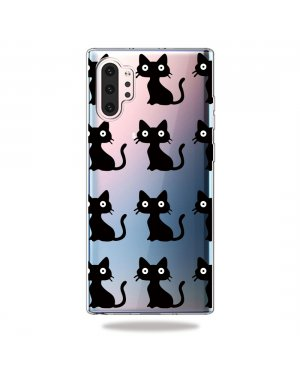 Samsung Galaxy Note 10 Plus Mobilskal - Black cats
