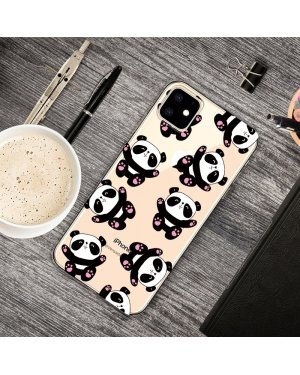 iPhone 11 Mobilskal - Mini Pandas